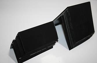 Крейдяний цінник 10х5 см V-подібний подвійний вертикальний (для написів крейдою і маркером)