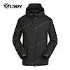 Куртка тактическая Softshell Esdy Shark Skin (Черная)