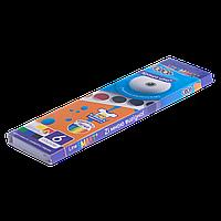 Краски акварельные 6 цветов карт. кор. ZiBi SMART Line