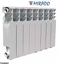Алюминиевый радиатор Mirado 85*300