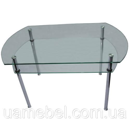 Cтол стеклянный журнальный СТ-105