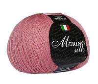 Пряжа Сеам Merino Silk 100 гр Розовый