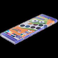 Краски акварельные 12 цветов карт. кор. ZiBi SMART Line