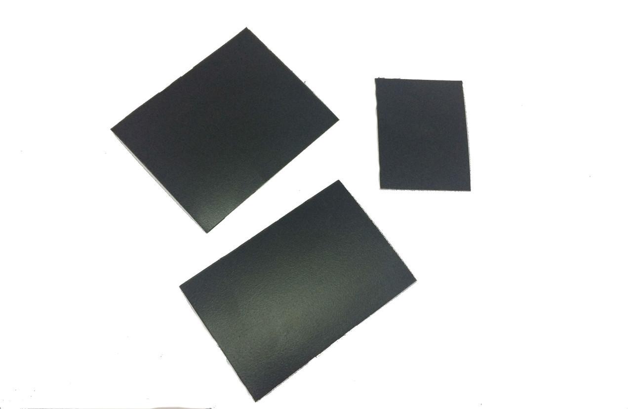 Ценник меловой 7х7 см для надписей мелом и маркером. Грифельная табличка двухсторонняя