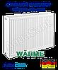 Сталевий радіатор Warme 500х2000 тип 22 бокове підключення