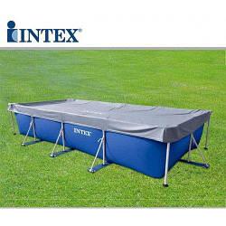 Intex 28039, тент для прямоугольного бассейна 460х226 см