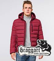 Braggart Aggressive 36450 | Куртка мужская на зиму бордовая