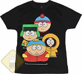 Футболка South Park (4 персонажа), Размер S
