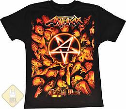 "Футболка Anthrax ""Worship Music"", Размер S"