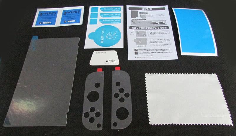 Защитная пленка hori  (0,18 мм) от царапин экрана для Nintendo Switch
