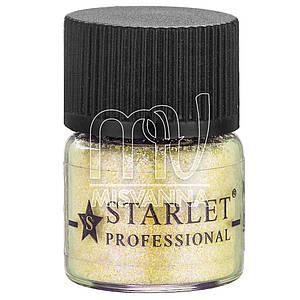 Микроблестки песок Starlet Professional SP-003, теплый желтый