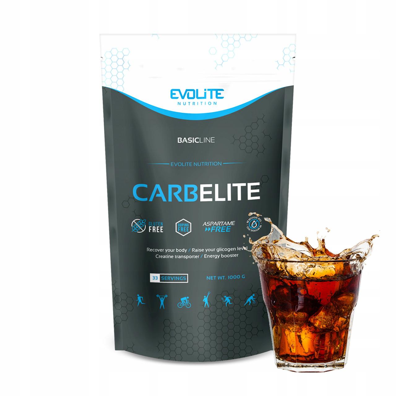 Углеводы, Карбо Evolite Nutrition  CarbElite  1000g  (Cola)