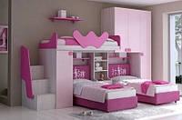 Детская кровать для троих детей ДМ 701