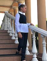 Брючный костюм школьный на девочку, фото 1