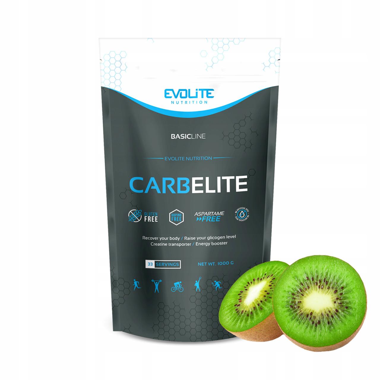 Углеводы, Карбо Evolite Nutrition  CarbElite  1000g  (Exotic Kiwi)