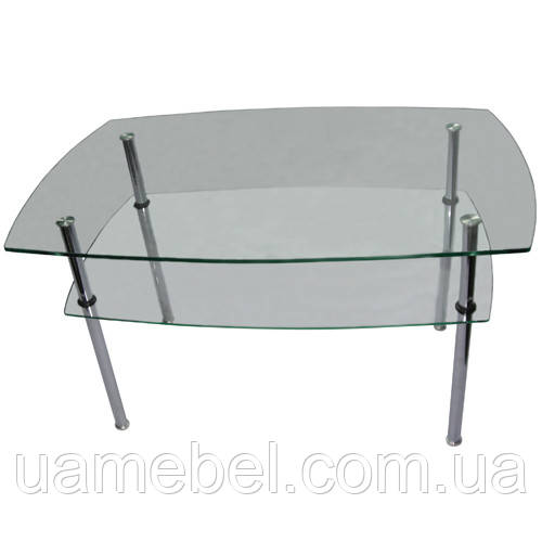 Cтол стеклянный журнальный СТ-103
