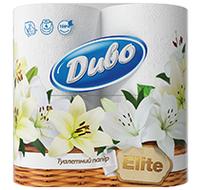Туалетная бумага Диво Elite 3сл 4рул/уп, фото 1