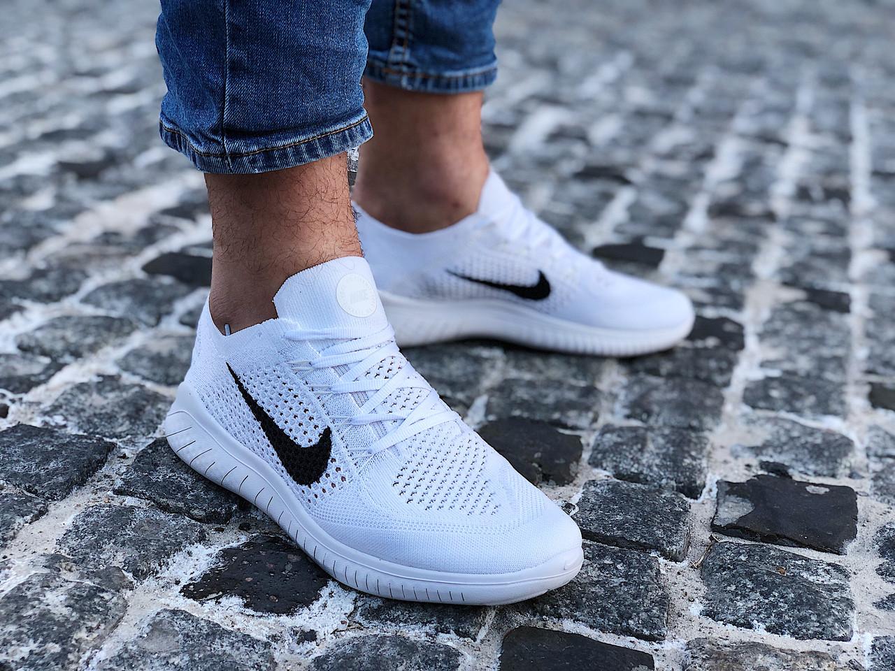 Кроссовки мужские Nike Free Rn Flyknit (Размеры:41,42,45)