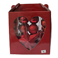 Комплект игрушек, 83 шт., красный, пластик (031443-3)
