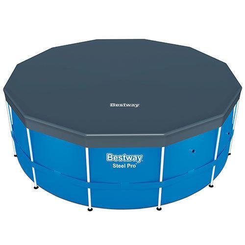 Bestway 58037, тент для каркасних басейнів 3.60/3.66 М (D 370 см)