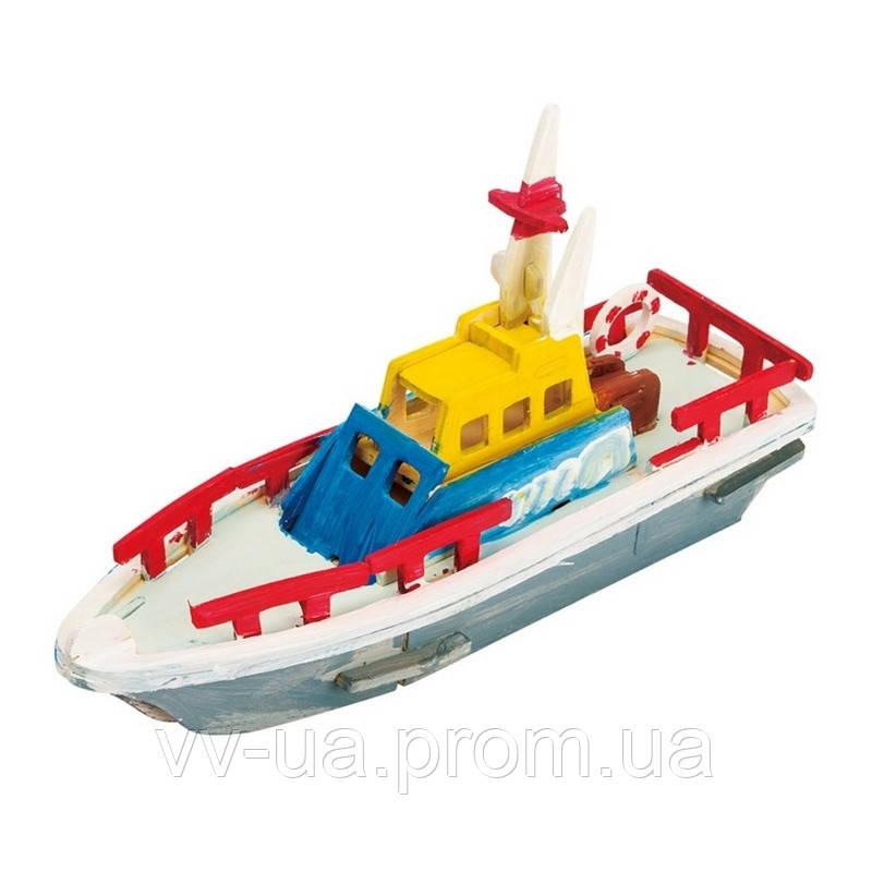 Деревянный конструктор-раскраска RoboTime Спасательная лодка (HC261)