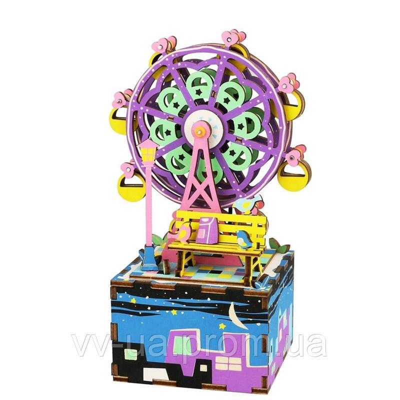 Музыкальная шкатулка-конструктор RoboTime Колесо обозрения (AM402)