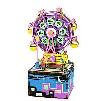 Музыкальная шкатулка-конструктор RoboTime Колесо обозрения (AM402), фото 1