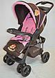 Детская прогулочная коляска книжка  Sigma S-K-6F Brown, фото 3