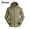 Куртка тактическая Softshell Esdy Shark Skin (Олива)