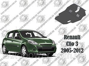 Защита RENAULT CLIO III МКПП V-1.5D 2005-2012