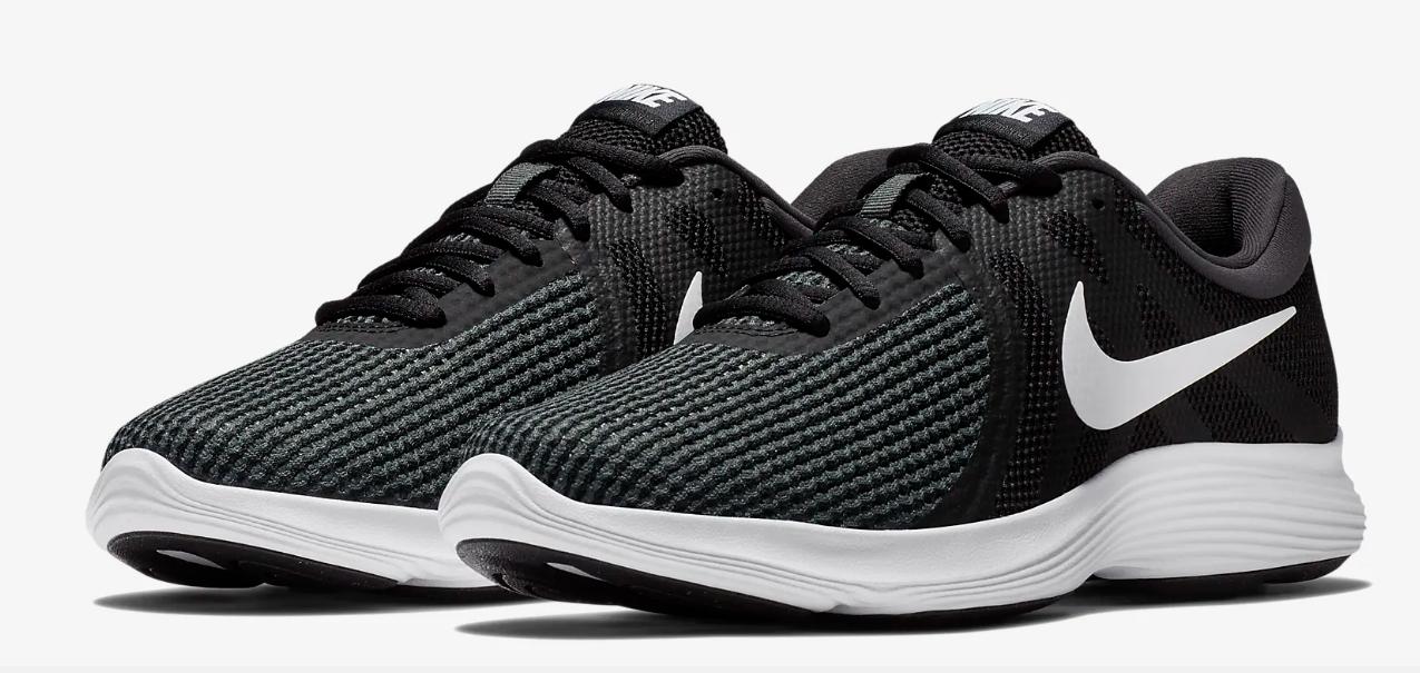 Nike Revolution 4 Оригинальные кроссовки с дышащим верхом большие размеры AJ3490-001
