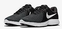 Nike Revolution 4 Оригинальные кроссовки с дышащим верхом большие размеры AJ3490-001, фото 1