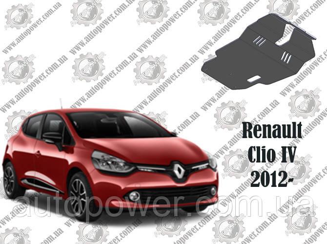 Защита RENAULT CLIO IV МКПП V-1.5D 2012-