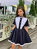 Очаровательное школьное платье девочке