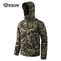 Куртка тактическая Softshell Esdy Shark Skin (DARK-GREEN)