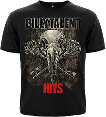 "Футболка Billy Talent ""Hits"", Размер S"