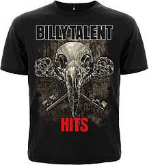 "Футболка Billy Talent ""Hits"", Размер M"