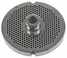 Решітка 3 мм з центр. втулкою для м'ясорубки мод.32 (D100/d13.5мм) система Enterprise
