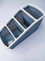 Органайзер пластиковый 20х9.5х10.5 см. Синий, фото 1