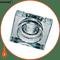 Feron 8180-2 MR16 прозрачный-квадрат50W
