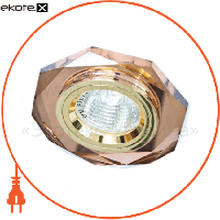 Feron 8020-2/(CD3003) коричневый-золото MR16 50W BR/GD