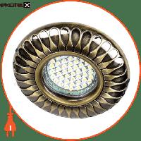 Feron Встраиваемый светильник  DL6047 античное золото 30132