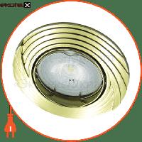 Feron Встраиваемый светильник  DL6227 золото 30138