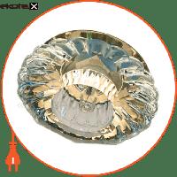 Feron Встраиваемый светильник  JD88 прозрачный золото 18869