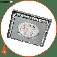 Feron DL102-C MR16 прозрачный-хром Max 50W