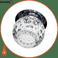 Feron Встраиваемый светильник  C1033S хром 18710