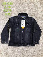 Джинсовая куртка для мальчиков, S&D, 6,8,10,12,14,16 лет,  № DT-1135