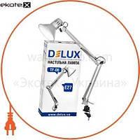 Delux Светильник настольный DELUX TF-06_E27 серебро