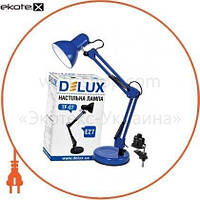 Delux Светильник настольный DELUX TF-07_E27 голубой