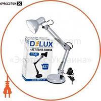 Delux Светильник настольный DELUX TF-07_E27 серебро